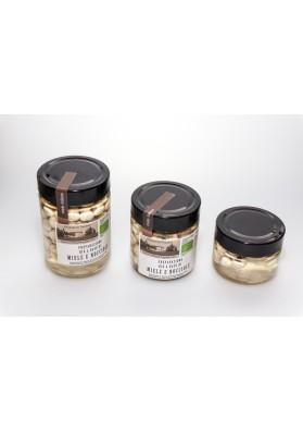 Miel Italien Biologique de la Toscane et Noisettes Grilleés Biologiques de l'Italie