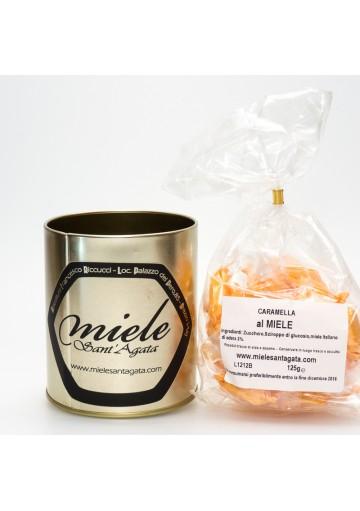 Caramelle Artigianali Italiane con Miele Italiano Biologico Sant'Agata