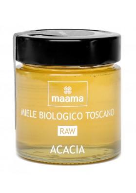 Maama Miele Italiano Bio Crudo di Acacia Toscano