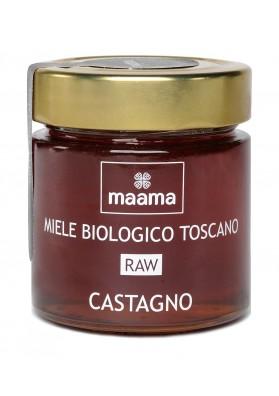Maama Organic Raw Italian Chestnut Honey from Tuscany
