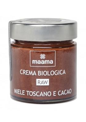 Maama Crema miele e Cacao: Miele Italiano Bio Crudo Toscano e Cacao Crudo Bio