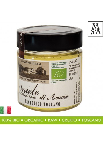Organic Italian Acacia Honey from Tuscany