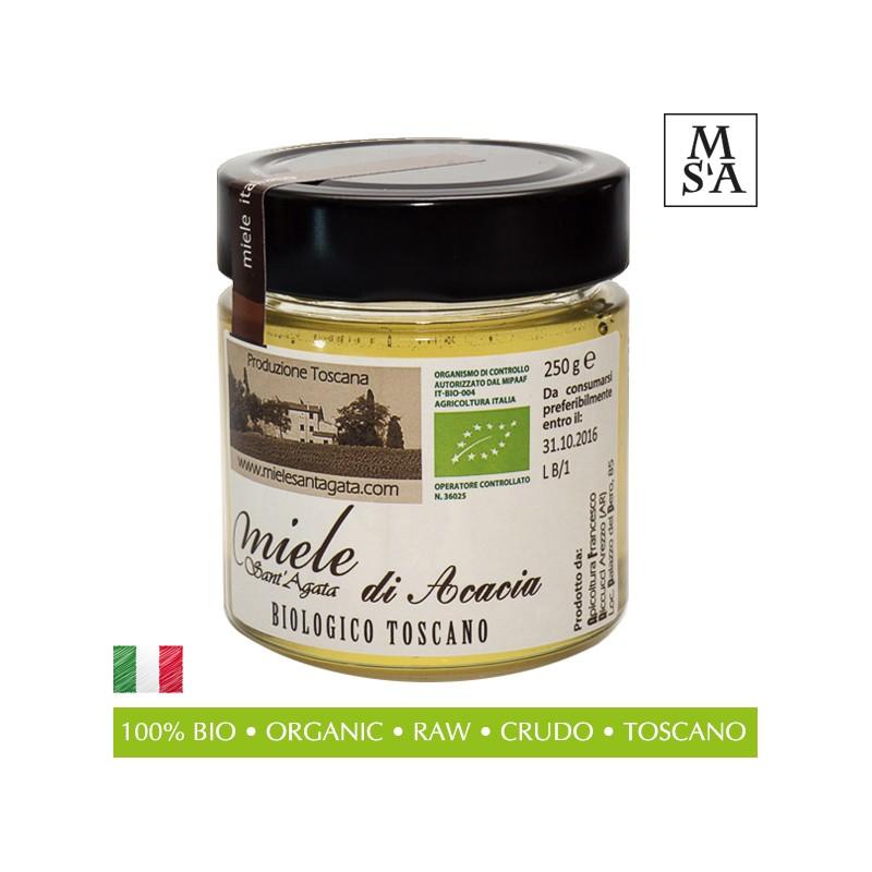 Organic Raw Italian Honey from Tuscany - Miele Sant'Agata