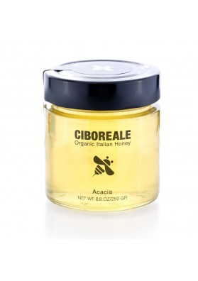 CIBOREALE Organic Italian Acacia Honey from Tuscany