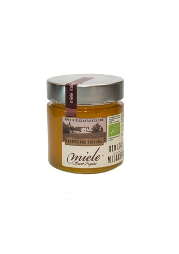 Organic Italian Multiflower / Wildflower Honey from Tuscany